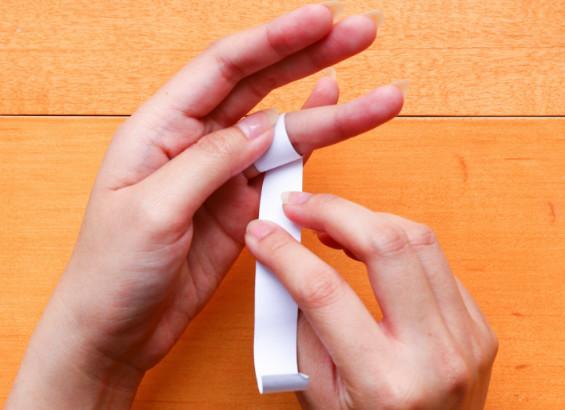 Trik 1, Mengukur Lingkar Jari Menggunakan Kertas